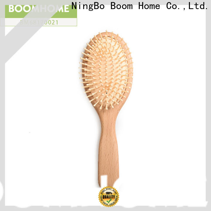 New wooden handle hair brush retro supply for travel