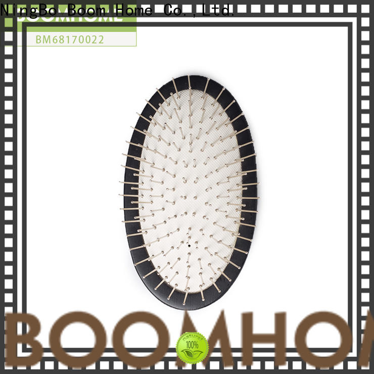 Wholesale wooden paddle hair brush gifts factory for hotel