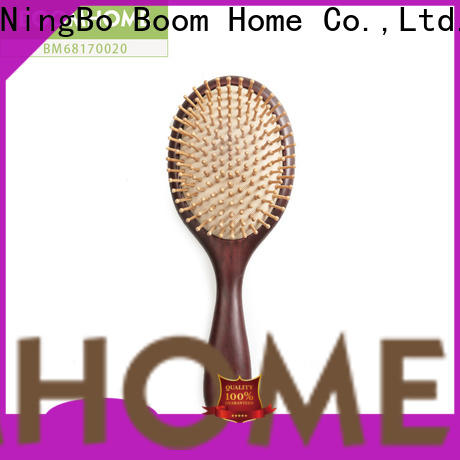 Boom Home airbag wooden paddle hair brush for business for home