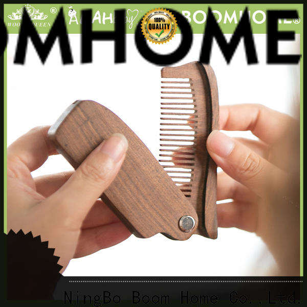 Boom Home Top wooden paddle hair brush suppliers for travel