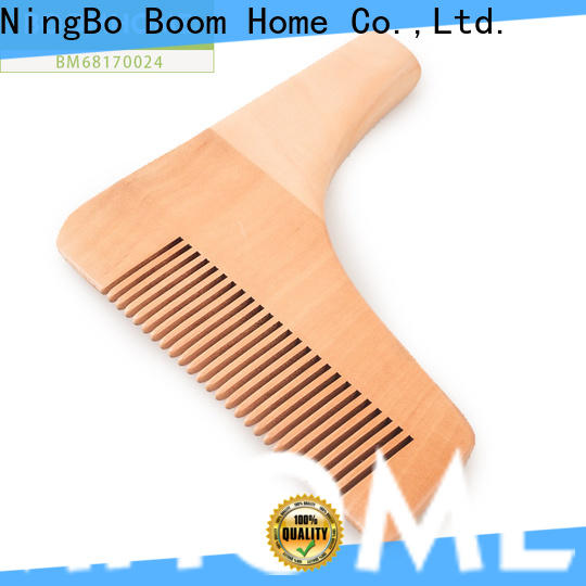 Custom wooden comb oval factory for travel