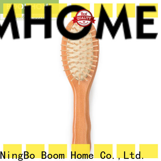 Latest wood hair brush personalized manufacturers for hotel