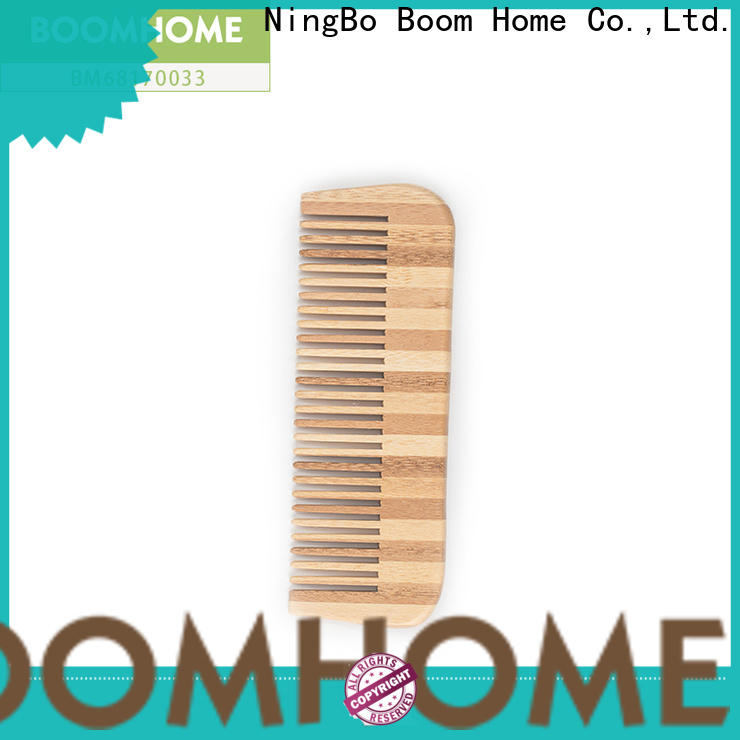 Boom Home Best bamboo hair comb manufacturers for curly hair
