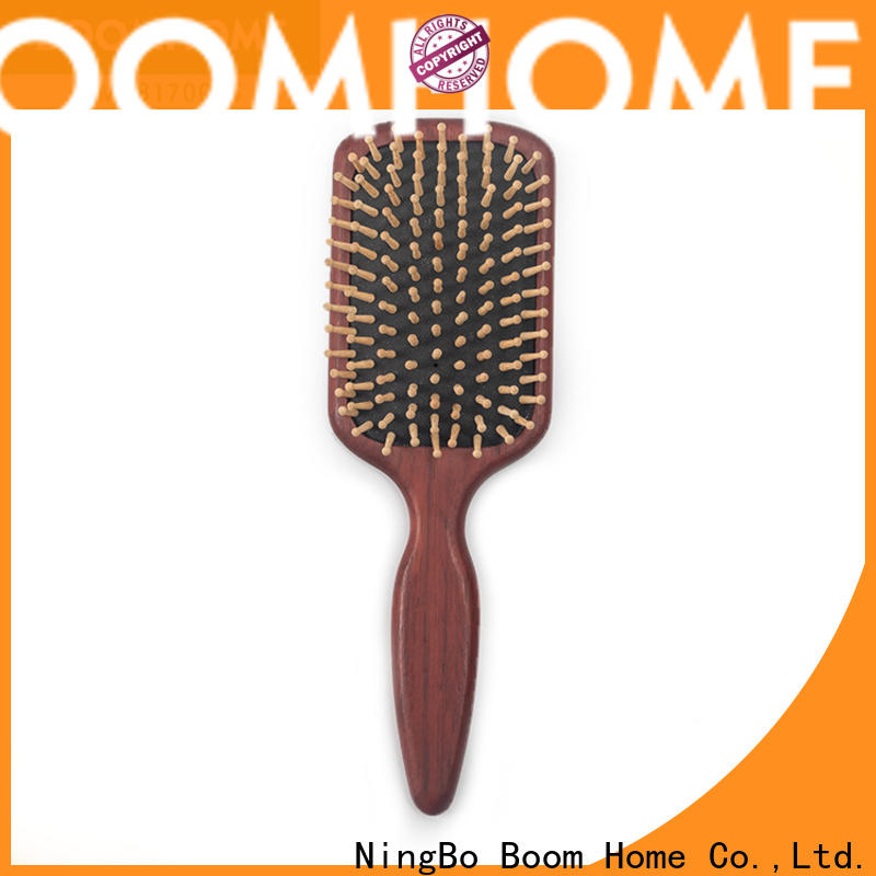 Boom Home stainless wooden hair comb for sale for travel