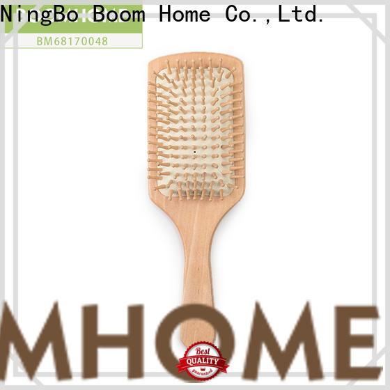 Wholesale bamboo hair brush tool for sale for curly hair