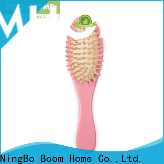 Boom Home cute wooden hair comb manufacturers for hotel