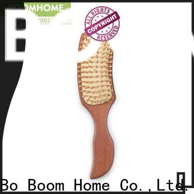 Boom Home men wooden hair brush manufacturers for travel