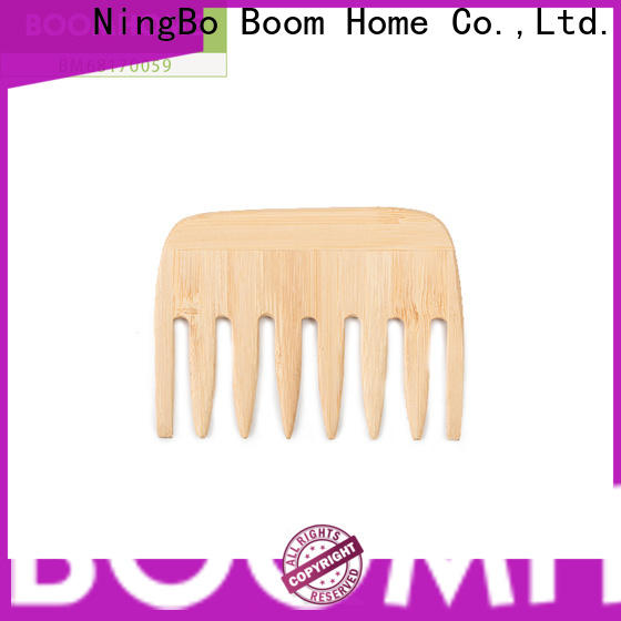 Boom Home dryer wooden paddle hair brush supply for shop