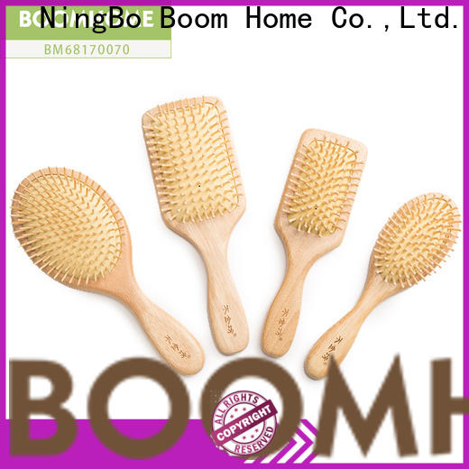 Boom Home High-quality wooden hair brush factory for hotel