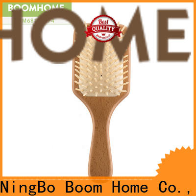 Boom Home holiday wooden paddle hair brush supply for hotel