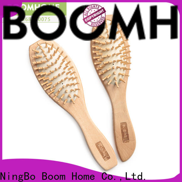Wholesale wooden comb brown manufacturers for travel