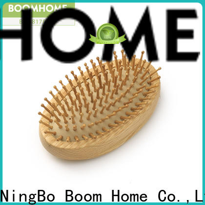 Boom Home Top wood hair brush for sale for travel