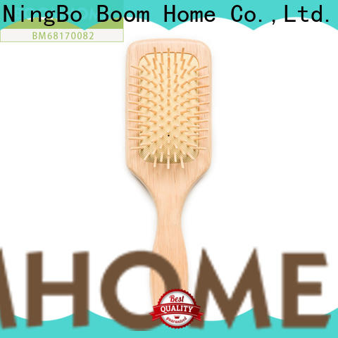 High-quality wooden paddle brush combs supply for shop