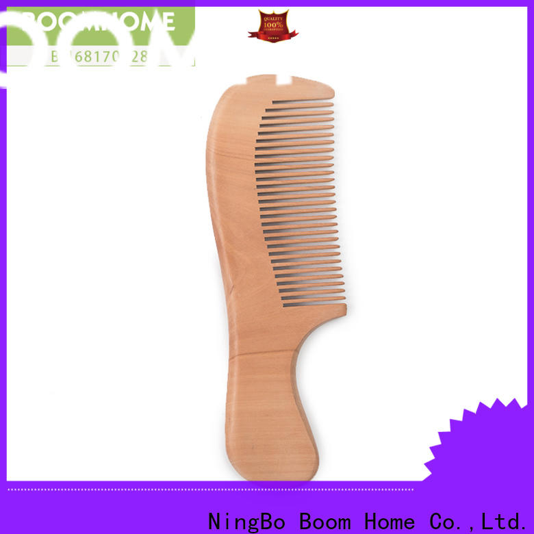 Boom Home private wooden hair brush factory for home