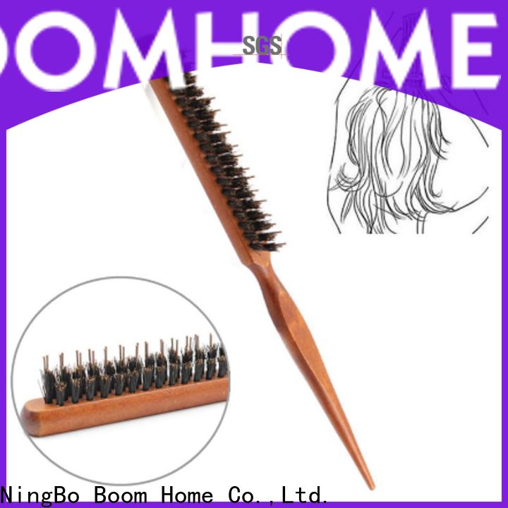 Boom Home pins boar hair hairbrush suppliers for men