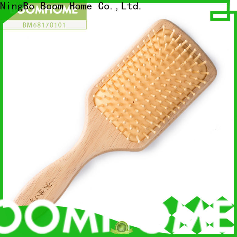 Wholesale wooden paddle brush air for business for travel