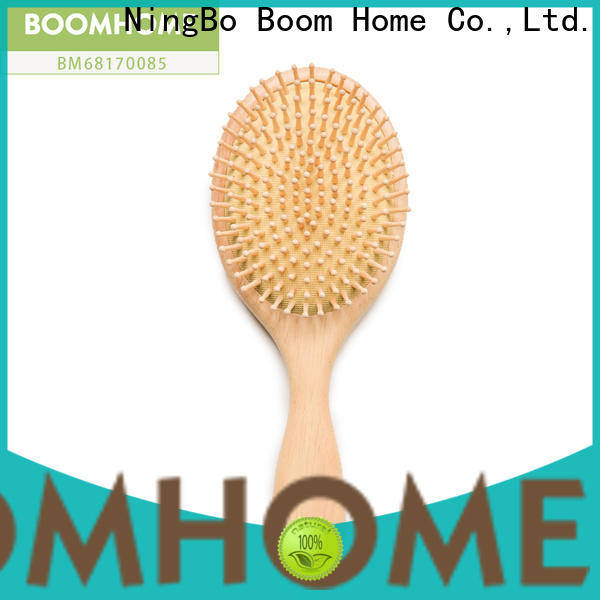 New wooden handle hair brush easy supply for home