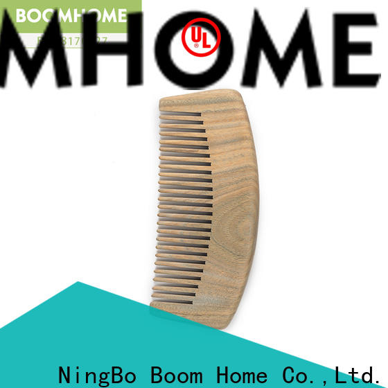 Boom Home compact wooden hair comb manufacturers for home