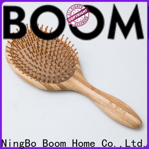 Boom Home brushes wooden handle hair brush suppliers for hotel
