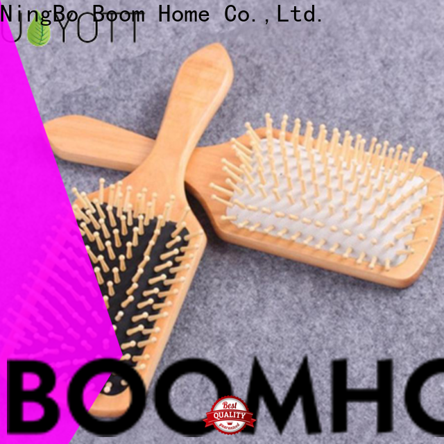 Latest wooden handle hair brush labels suppliers for hotel