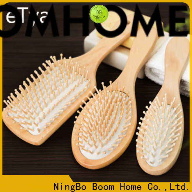 Boom Home Wholesale wood hair brush for business for shop