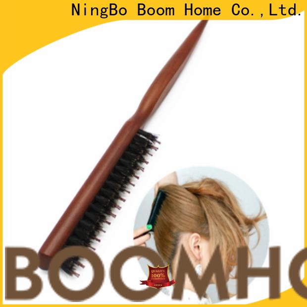 Latest bristle hair brush long handle suppliers for men