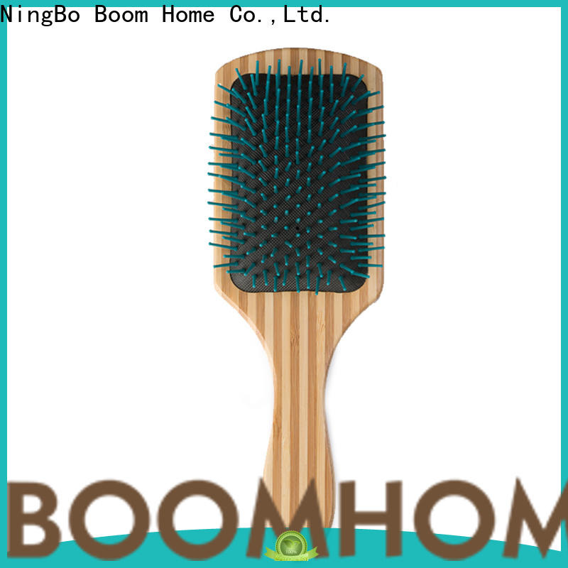 Boom Home brushing wooden handle hair brush suppliers for travel