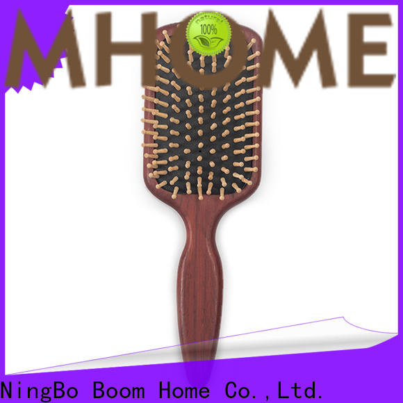 Boom Home electricity wooden handle hair brush suppliers for hotel