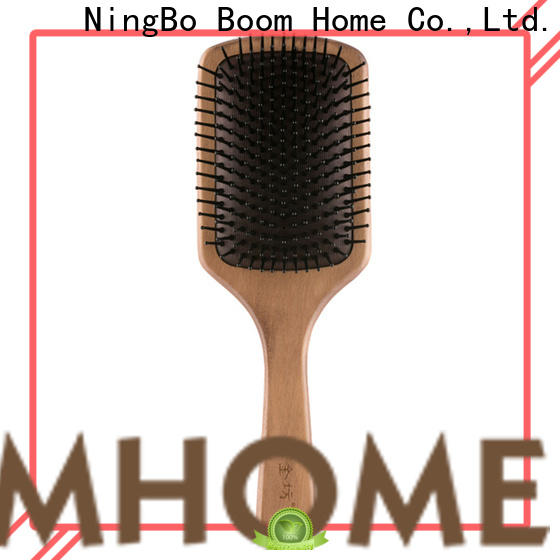 Boom Home Best wooden handle hair brush for business for shop