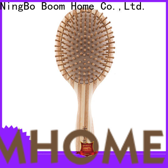 Boom Home New bamboo paddle brush for sale for women