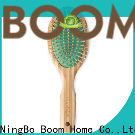 Boom Home Wholesale bamboo hair brush for sale for men