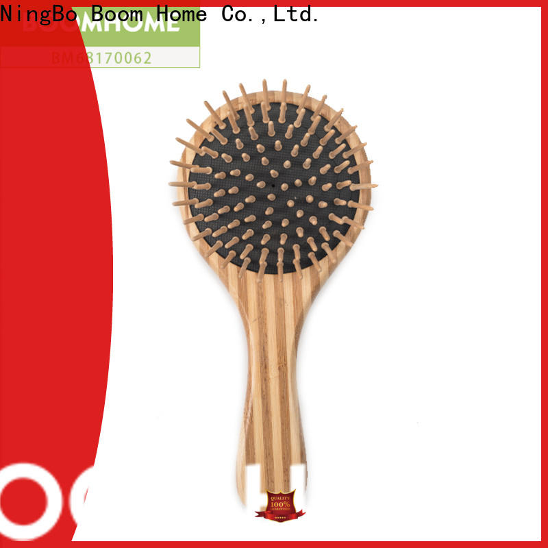 Boom Home cushion bamboo hair comb for sale for curly hair