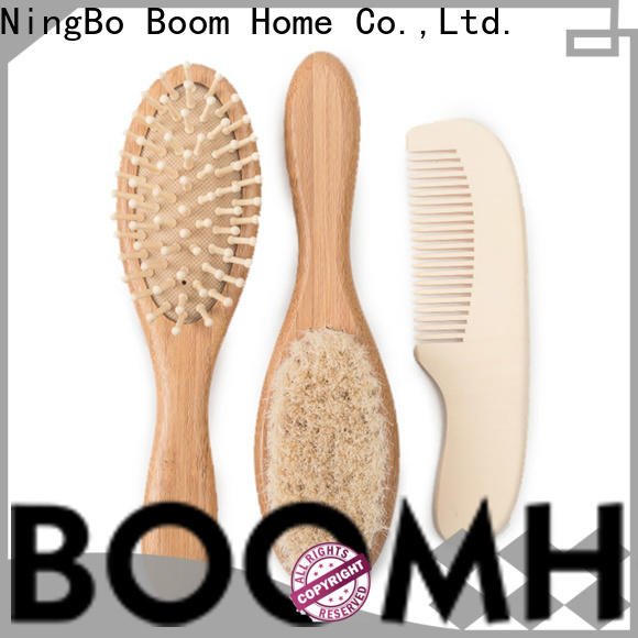 Boom Home round childrens hair brush factory for trottie