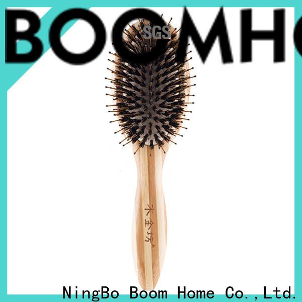 Boom Home High-quality boar hair hairbrush manufacturers for women