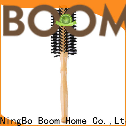 Boom Home Latest boar bristle round brush manufacturers for household