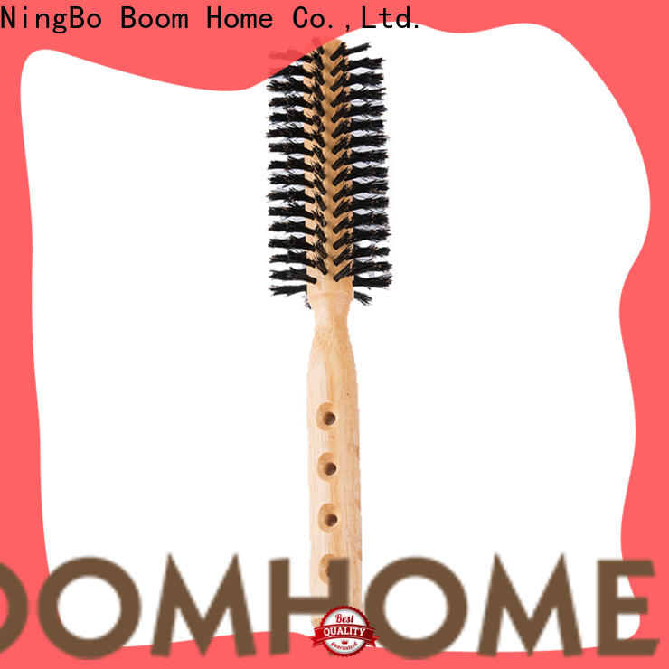 Boom Home blow round bristle brush manufacturers for household