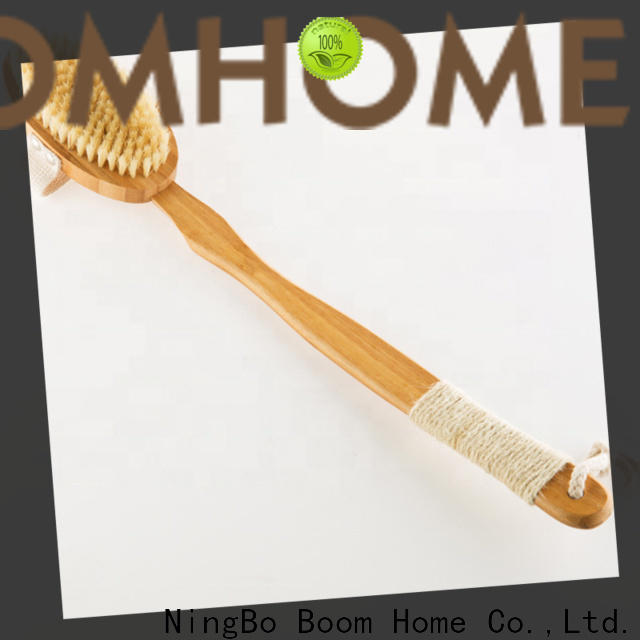 Boom Home bamboo baby bath brush for sale for dry skin