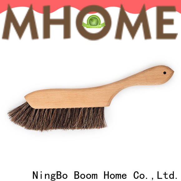 Top wooden brushes dust cleaning supply for bedspread