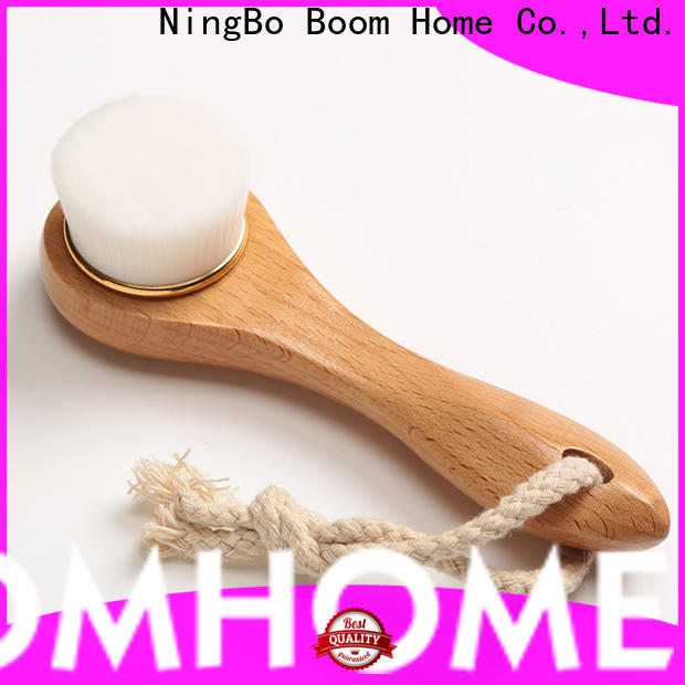 Boom Home deep cleansing natural face brush suppliers for girls
