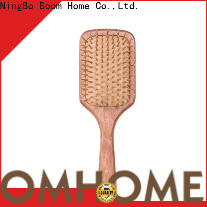 High-quality wooden paddle brush cushion factory for hotel