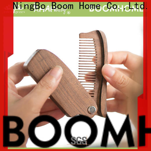Custom wooden comb girl manufacturers for hotel