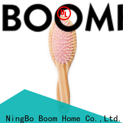Boom Home tool bamboo hair comb company for curly hair