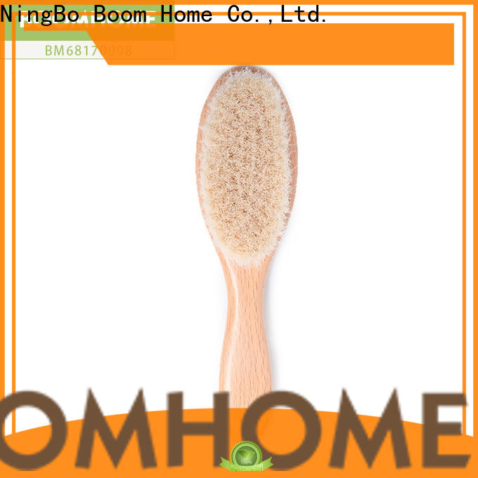 Latest baby hair brush and comb set bristle factory for kids