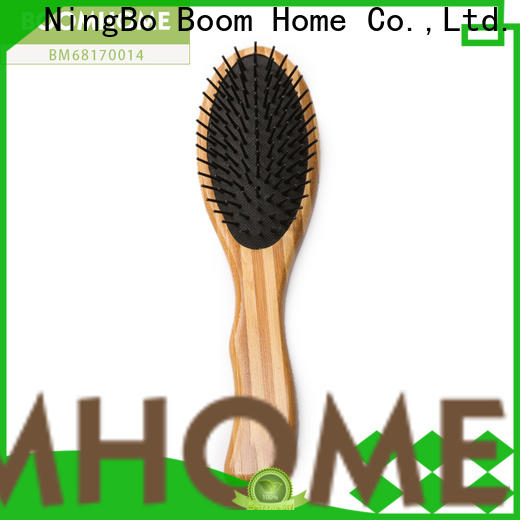 Boom Home handle bamboo paddle brush supply for men
