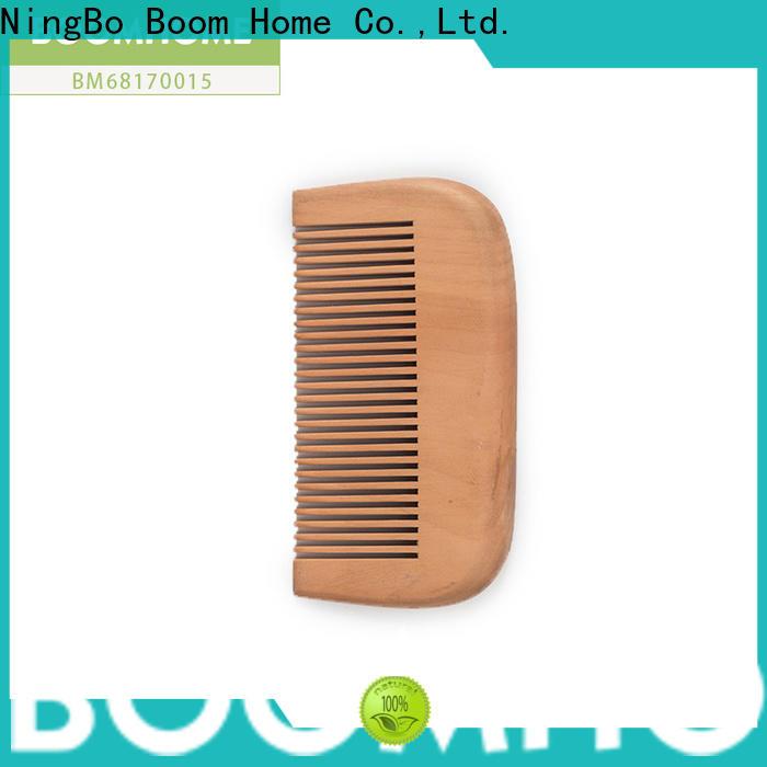 Boom Home nylon wooden hair brush factory for hotel