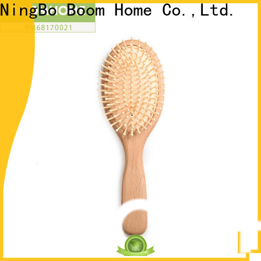 Boom Home bamboo wooden hair comb supply for hotel