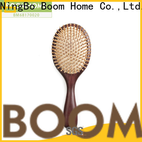 Wholesale wooden paddle brush shape suppliers for shop