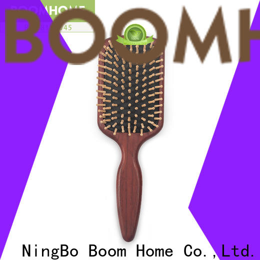 Boom Home Custom wooden hair comb factory for hotel