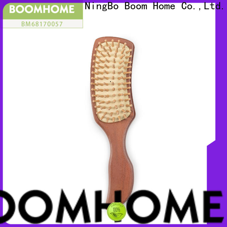 Boom Home girl wooden comb company for travel