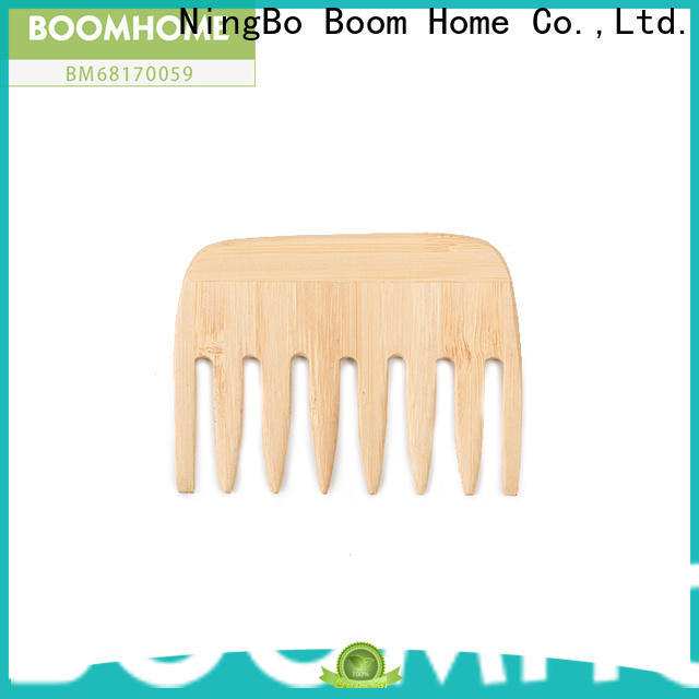 Boom Home small wooden hair brush manufacturers for travel